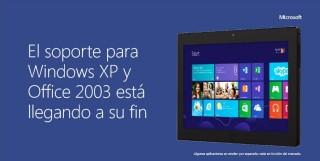 El soporte de Windows XP llega a su fin